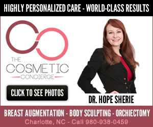 Dr. Hope Sherie - MTF Breast Augmentation, Hi-Def VASER Body Sculpting, Orchiectomy in Charlotte